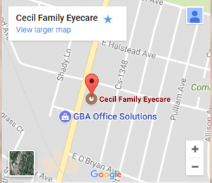 cecil family map